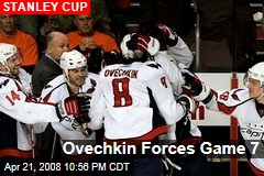 Ovechkin Forces Game 7