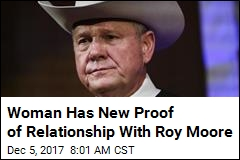 Woman Has New Proof of Relationship With Roy Moore