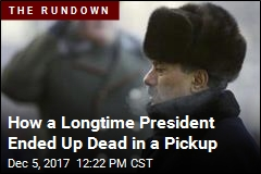 How a Longtime President Ended Up Dead in a Pickup