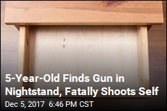 5-Year-Old Finds Gun in Nightstand, Fatally Shoots Self