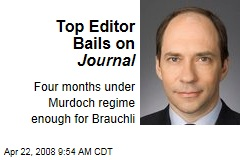 Top Editor Bails on Journal