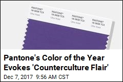 Deep Purple Isn't Just a Band. It's Now Color of the Year