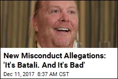 Mario Batali Slammed With Sexual Misconduct Allegations