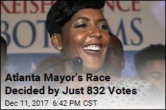 Atlanta Mayoral Race Is Official, but a Recount Is Likely