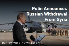 Putin Announces Russian Withdrawal From Syria