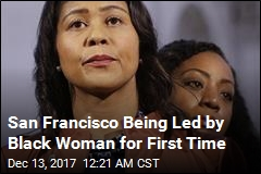 London Breed Is First Black Woman to Lead SF