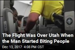 Flight Makes Emergency Stop After Man Bites Passengers