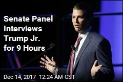 Trump Jr. Finishes 9-Hour Interview in Senate