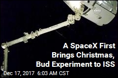 At ISS, It's Beginning to Look a Lot Like Christmas