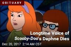 Longtime Voice of Scooby-Doo 's Daphne Dies