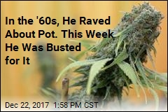 'Colorful' '60s Pot Activist Busted for ... Lots of Pot