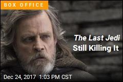 The Last Jedi Still Killing It