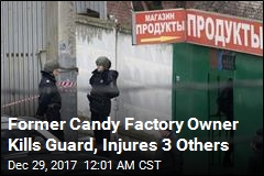Ex-Owner of Candy Factory Accused of Killing Guard