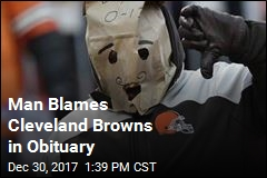 Man Blames Cleveland Browns in Obituary