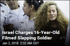 Teen Filmed Slapping Israeli Soldier Charged With Assault