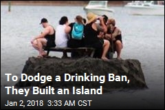 New Zealanders Build Island to Dodge Drinking Ban