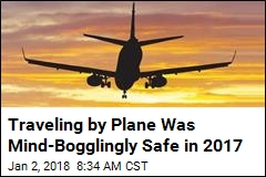 Reports: Last Year Was the Safest Year Ever to Fly