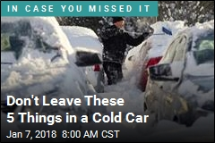 Don't Leave These 5 Things in a Cold Car