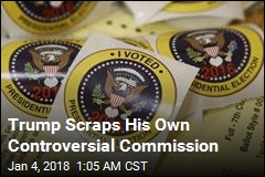 Trump Decommissions Voter Fraud Commission