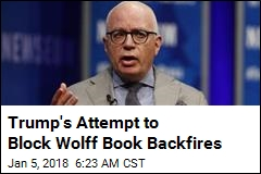 Wolff's Trump Book Is Going on Sale Early