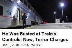FBI: White Supremacist Who Halted Train Accused of Terror