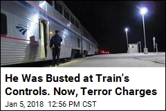 FBI: White Supremacist Who Halted Train Accused of Terror