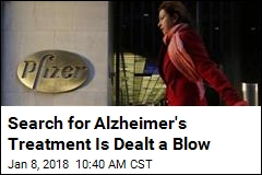 Pfizer to Stop Looking for New Alzheimer's Drugs