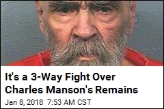 It's a 3-Way Fight Over Charles Manson's Remains