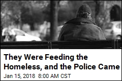They Fed the Homeless in a Park, Were Cited for It