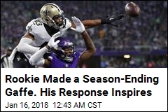 Saints Rookie: I Won't Let That Gaffe Define Me as a Man