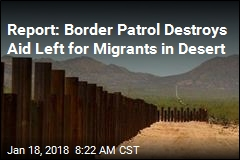 Border Patrol Accused of Dumping Water Left for Migrants