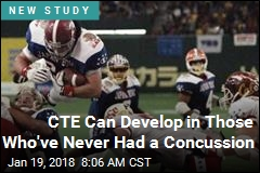 CTE Signs Can Follow a Single Hit to Head