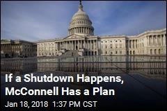 If a Shutdown Happens, McConnell Has a Plan