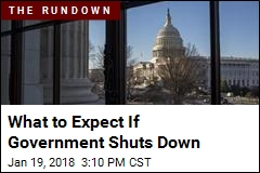 What to Expect in a Government Shutdown