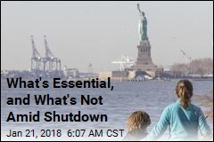 What's Essential, and What's Not Amid Shutdown