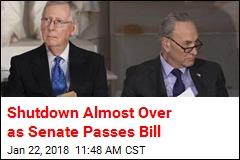 Shutdown Breakthrough: Senate Passes Spending Bill