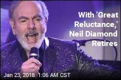 Neil Diamond Announces Immediate Touring Retirement