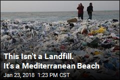 This Isn't a Landfill. It's a Mediterranean Beach