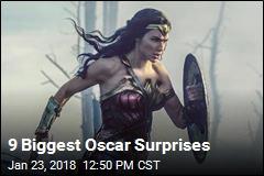 9 Biggest Oscar Surprises