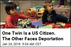 One Twin Is a US Citizen. The Other Faces Deportation