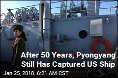 After 50 Years, Pyongyang Still Has Captured US Ship
