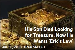 Hunt for $2M Buried Treasure Claims 3rd Life