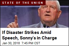 If Disaster Strikes Amid Speech, Sonny's in Charge