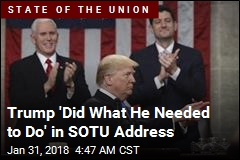 Trump 'Toned It Down' for SOTU Address