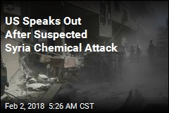 US Speaks Out After Suspected Syria Chemical Attack