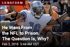 He Wants to 'Dominate' the NFL. He's Sitting in Prison