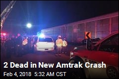 2 Dead in New Amtrak Crash