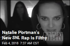 Natalie Portman's New SNL Rap Is Filthy