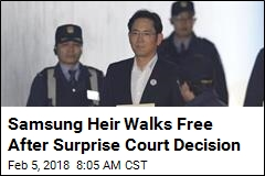 Samsung Heir Freed After Year in Prison