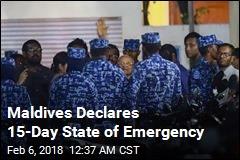 Former Leader, 2 Judges Arrested in Maldives